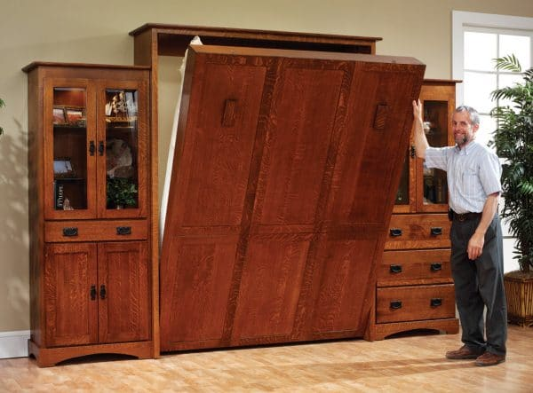 Amish wall beds offer superior quality murphy beds of for Murphy bed san diego ca
