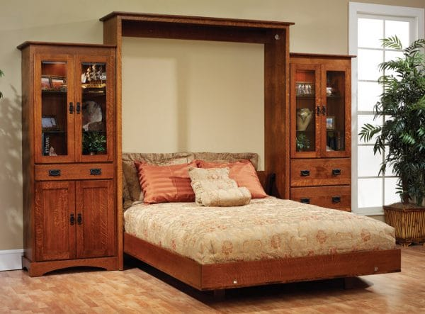 Amish collection Albany wall bed
