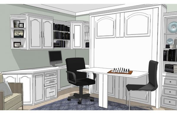 Creating the Perfect Home Office with a Murphy Wall Bed System