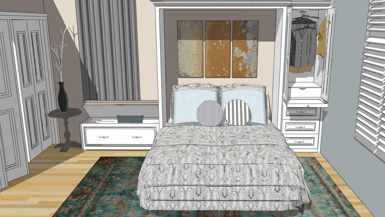 empress wall bed