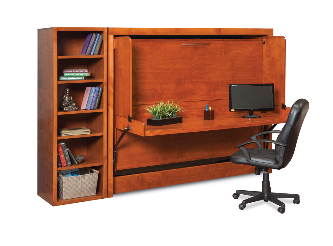 mirage desk wall bed