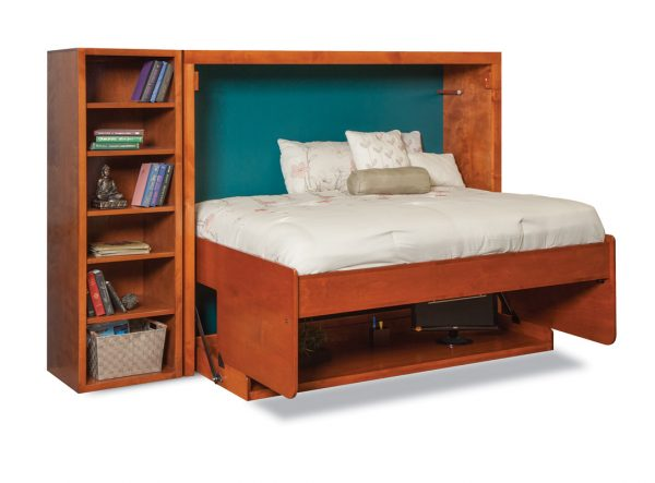 mirage horizontal desk wall bed