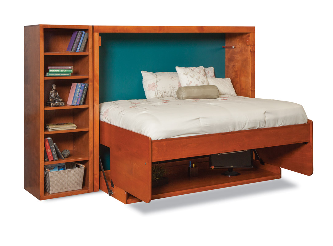 Mirage H Desk Wall Bed Murphy Beds Of San Diego