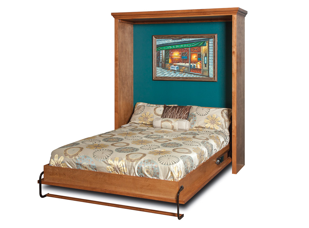 Venetian Wall Bed Murphy Beds Of San Diego