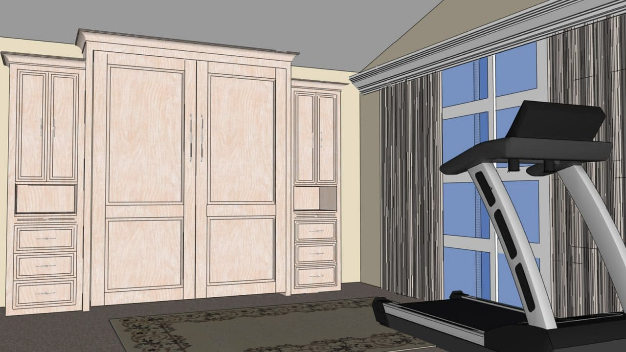 Murphy bed system