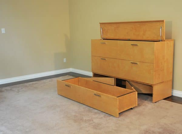 Denva storage cabinet beds