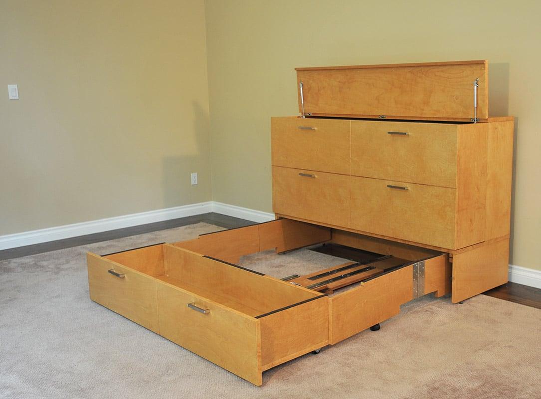 Denva Cabinet Bed Murphy Beds Of San Diego