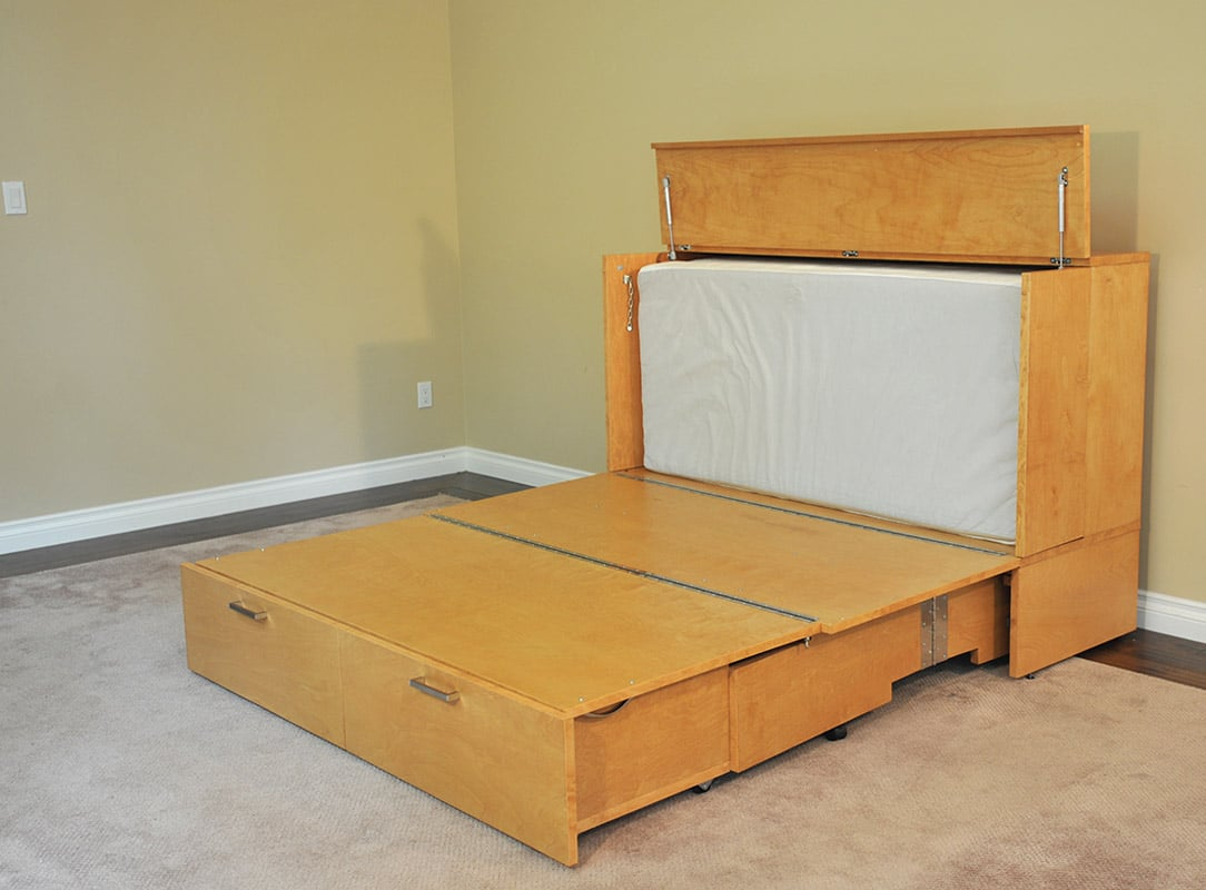 Denva Cabinet Bed Murphy Beds Of San Diego