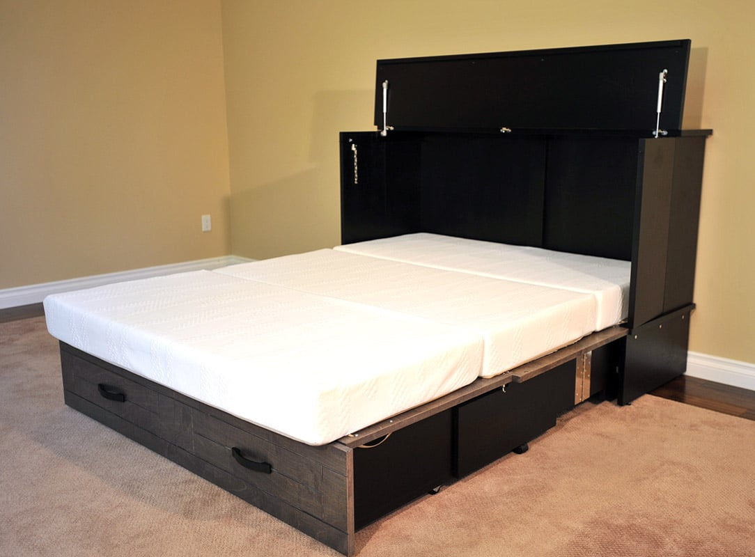 Queen Size Cabinet Beds