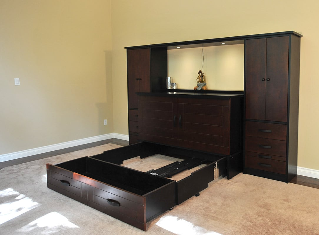 Metro Wall Unit And Cabinet Bed Murphy Beds Of San Diego