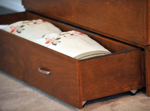 park avenue cabinet bed storage drawer
